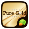 (FREE) GO SMS PURE GOLD THEME Icon