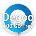 100GB Free Cloud Storage Degoo Icon