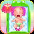 Newborn Baby Caring Icon