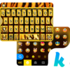 Golden Pattern Kika Keyboard Icon