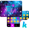 Galaxy Sparkle Kika Keyboard Icon