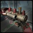 Flying Train Simulator 3D Free Icon