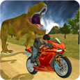 Bike Racing Sim: Dino World Icon