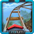 VR Roller Coaster attraction Icon