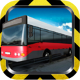 Bus Speed Driving 3D Icon