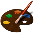 Paint Brush Drawing Icon