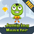 Jumping Monster Icon