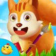 Preschool Animal Art & Craft Icon