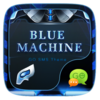 FREE-GO SMS BLUE MACHINE THEME Icon