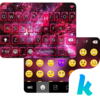 Space Dust Emoji Kika Keyboard Icon