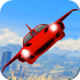 Futuristic Flying Car Ultimate Icon