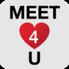 Meet4U - Chat, Love, Flirt! Icon