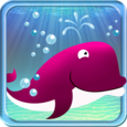 Dolphin Water Bubbles Icon