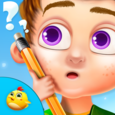Preschool IQ Test For Kids Icon