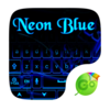 Neon Blue GO Keyboard Theme Icon