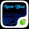 Neon Blue GO Keyboard Theme Icon