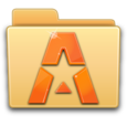 ASTRO File Manager with Cloud Icon
