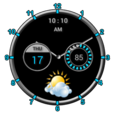 Super Clock +Weather Free Icon