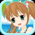 Sunshine Girl Beach Wear Icon