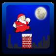 Santa Roof Run Icon