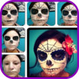 Halloween Makeup Step by Step Icon
