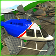 City Helicopter Game 3D Icon