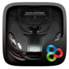 Black Lightning GO Launcher Icon