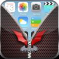 Bat Zip Lock Screen Icon