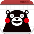 Kumamon's Balloon Memo Icon