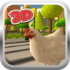 Chicken Run Simulator 3D Icon