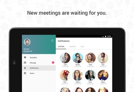 Hitwe – meet people and chat