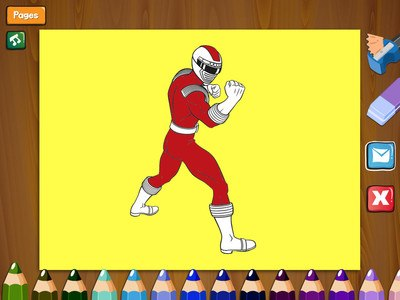 Paint Power Rangers
