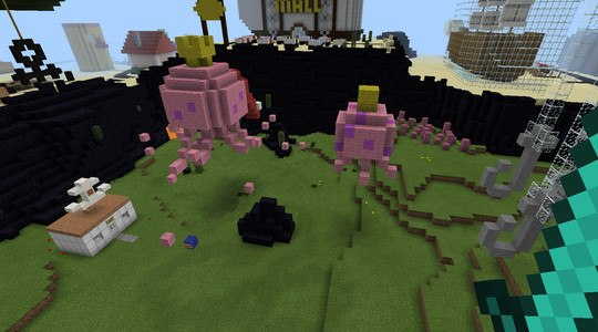 Bikini bottom Minecraft PE Map