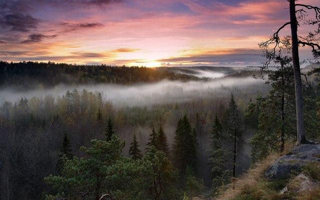 Noux National Park Sunset