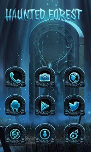 Haunted Forest GO Launcher
