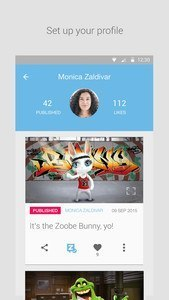 Zoobe - cartoon voice messages