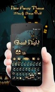Ghost Night GO Keyboard Theme