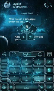 Future GO Keyboard Theme