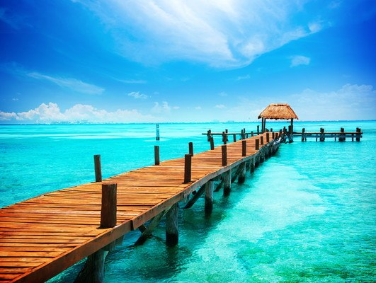 Tropical Ocean Pier