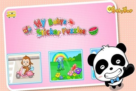 Sticker Puzzles by BabyBus