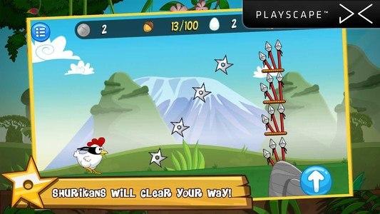 Ninja Chicken Adventure Island