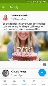 Evite Invitations & Guest RSVP