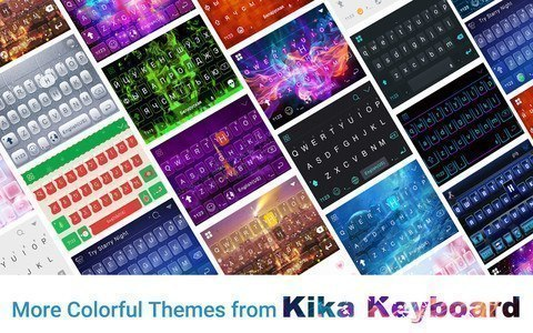Crystal Emoji Kika Keyboard