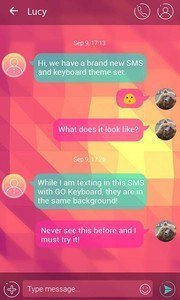 (FREE) GO SMS SIMPLE THEME