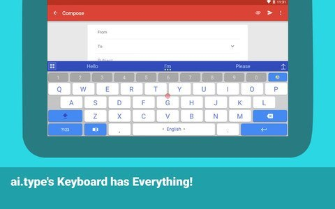 aitype keyboard Free + Emoji