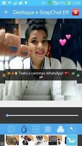 Editor De Foto Efeito Snapchat