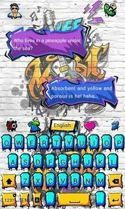 Graffiti GO Keyboard Theme