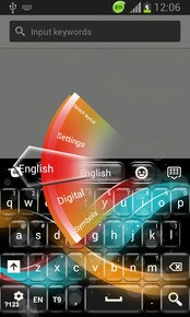 Keyboard for Sony Xperia M