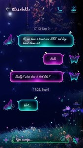(FREE) GO SMS FAIRYLAND THEME