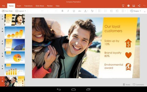 Microsoft PowerPoint Preview